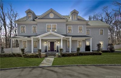 Stamford Single Family Home For Sale: 242 Four Brooks Road