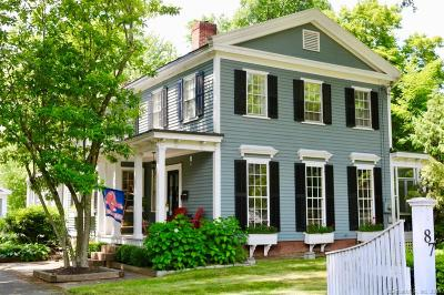 Suffield Single Family Home For Sale: 87 South Main Street