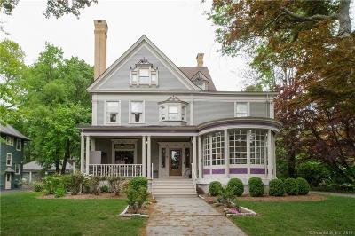 West Hartford Single Family Home For Sale: 739 Prospect Avenue