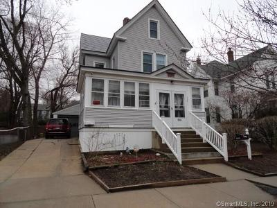 New London Single Family Home For Sale: 114 Ledyard Street