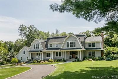Darien Single Family Home For Sale: 18 Fox Hill Lane