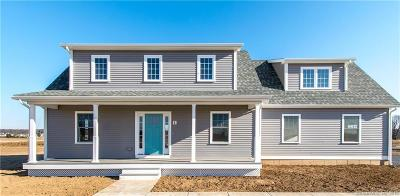 East Windsor Single Family Home For Sale: 67 Middle Lot Road #Lot 20