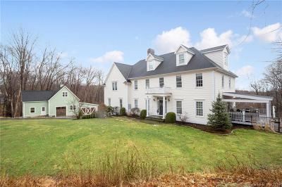 Weston Single Family Home For Sale: 75 Old Farm Road