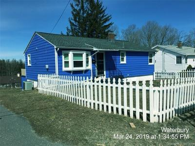 Waterbury CT Single Family Home For Sale: $159,900
