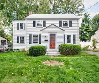 Wethersfield Single Family Home For Sale: 84 Judd Road