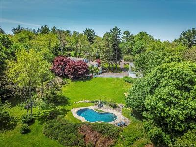 Wilton Single Family Home For Sale: 208 Chestnut Hill Road