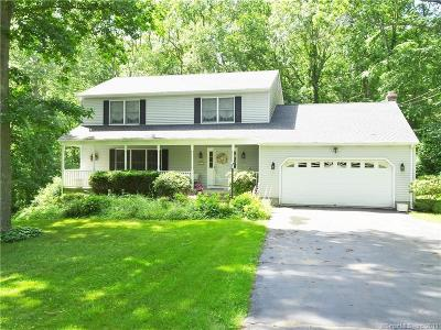 Ledyard Single Family Home For Sale: 28 Monticello Drive