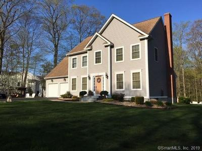 Bolton Single Family Home For Sale: 39 Country Club Road