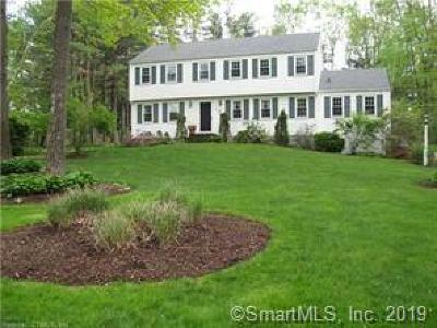 Simsbury Single Family Home For Sale: 51 Clifdon Drive