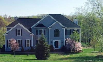 New Milford Single Family Home For Sale: 188 Weathervane Drive