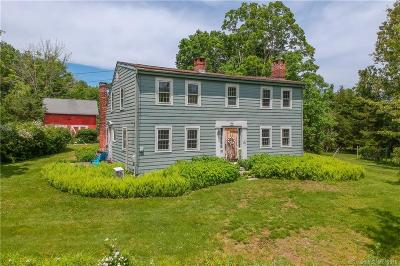 Newtown Single Family Home For Sale: 1 Old Bridge Road