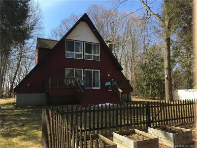Woodstock Single Family Home For Sale: 28 Crooked Trail