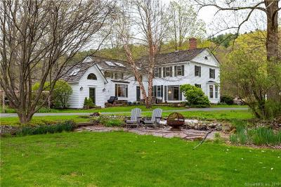 Simsbury Single Family Home For Sale: 57 East Weatogue Street