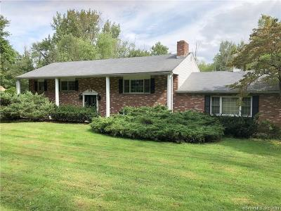 Fairfield County Single Family Home For Sale: 71 Stony Hill Road