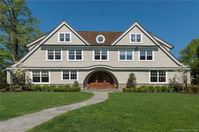 Darien Single Family Home For Sale: 50 Sunset Road
