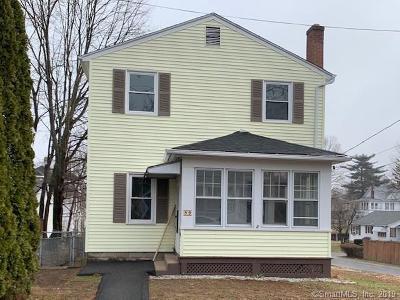 Waterbury Single Family Home For Sale: 80 Cynthia Street