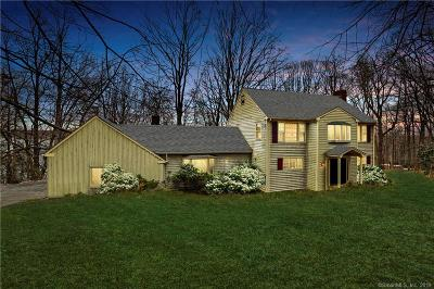 New Canaan Single Family Home For Sale: 75 Sheridan Drive