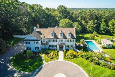Darien, Easton, Fairfield, New Canaan, New Fairfield, Newtown, Norwalk, Redding, Ridgefield, Shelton, Stamford, Trumbull, Westport, Beacon Falls, Branford, Guilford, Milford, Southbury, West Haven Single Family Home For Sale: 163 Woodridge Circle