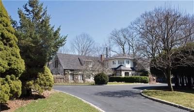 Stamford Single Family Home For Sale: 229 East Hunting Ridge Road