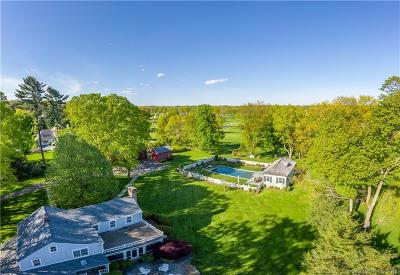 Darien Single Family Home For Sale: 286 Mansfield Avenue
