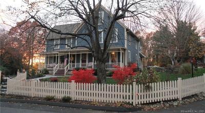 Norwich Single Family Home For Sale: 182 Wightman Avenue