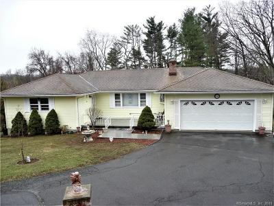 Danbury Single Family Home For Sale: 12 Sil Cam Drive