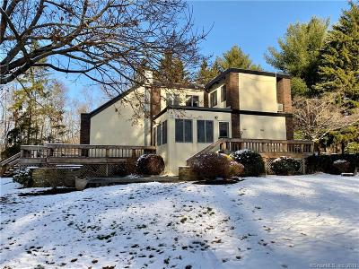 Cheshire Single Family Home For Sale: 644 Mountain Road