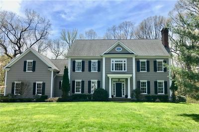 Darien Single Family Home For Sale: 16 Silver Lakes Drive