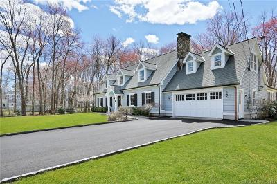 Darien Single Family Home For Sale: 6 Holly Lane