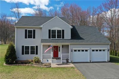 Suffield Single Family Home For Sale: 160 Canal Road