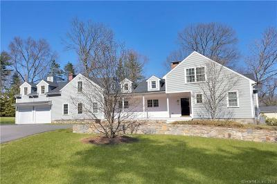 Darien Single Family Home For Sale: 14 Richmond Drive