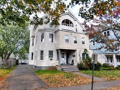 New Britain Multi Family Home For Sale: 396 Chestnut Street