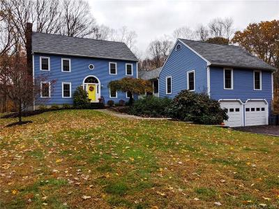 Easton Single Family Home For Sale: 485 Judd Road