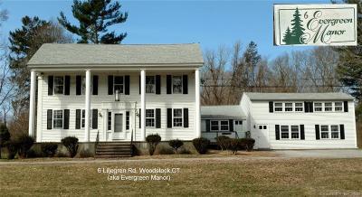 Woodstock Single Family Home For Sale: 6 Liljegren Road