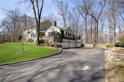 Ridgefield Single Family Home For Sale: 18 Hull Place