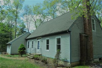 Willington Single Family Home For Sale: 18 Lindsey Lane