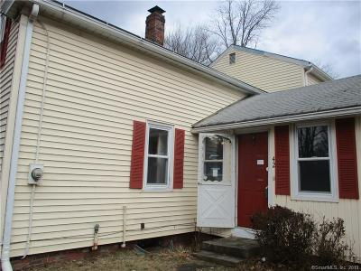 East Windsor Single Family Home For Sale: 42 North Main Street