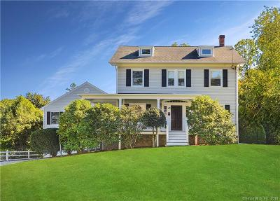 New Canaan Single Family Home For Sale: 47 Oak Street