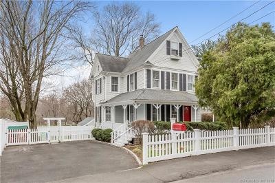 Darien Single Family Home For Sale: 6 Maple Street