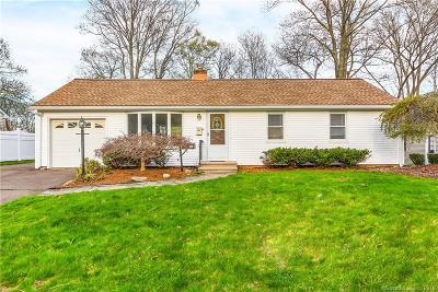 Wethersfield Single Family Home For Sale: 38 Cedar Street