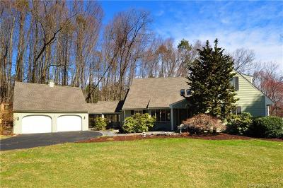 West Hartford Single Family Home For Sale: 60 Beacon Hill Drive