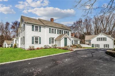 RIDGEFIELD Single Family Home For Sale: 293 North Salem Road