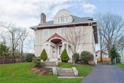 West Hartford Single Family Home For Sale: 29 Arnoldale Road