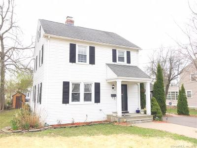 Wethersfield Single Family Home For Sale: 19 Avalon Place