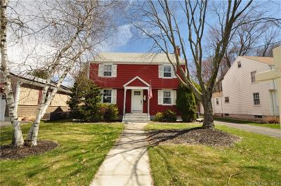 West Hartford Single Family Home For Sale: 24 Dorset Road