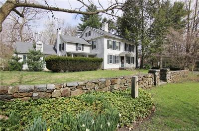 New Canaan Single Family Home For Sale: 634 Silvermine Road