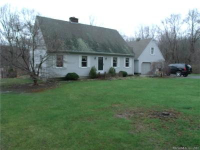 Bolton Single Family Home For Sale: 141 Hebron Road