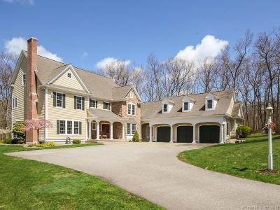 Glastonbury Single Family Home For Sale: 497 Cedar Ridge Drive