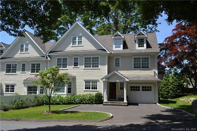 New Canaan Condo/Townhouse For Sale: 92 Hoyt Street #92