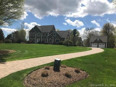 Tolland Single Family Home For Sale: 37 Shores Drive